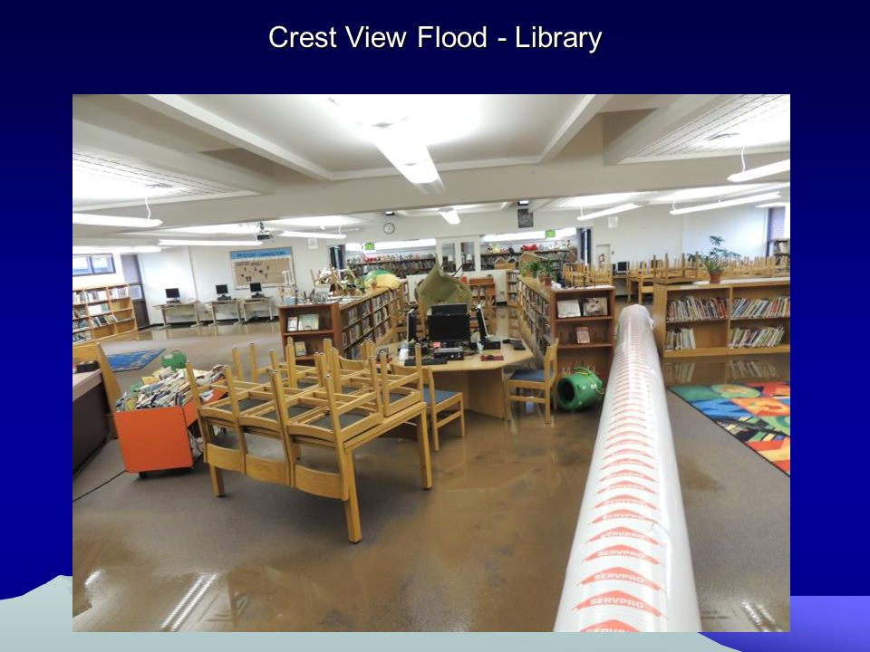 Crest View Flood - Library