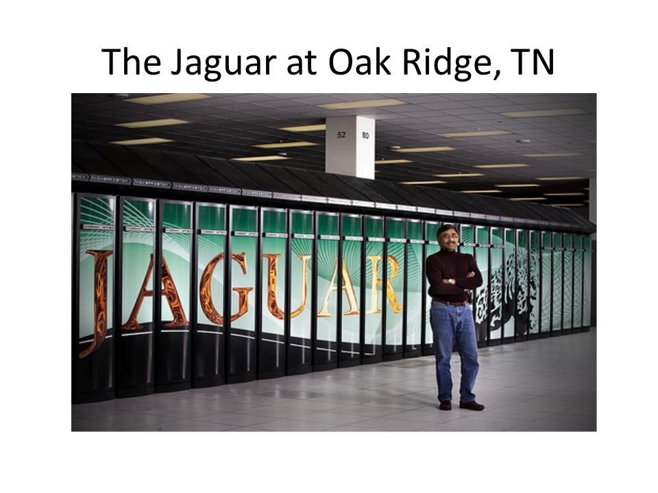 The Jaguar at Oak Ridge, TN