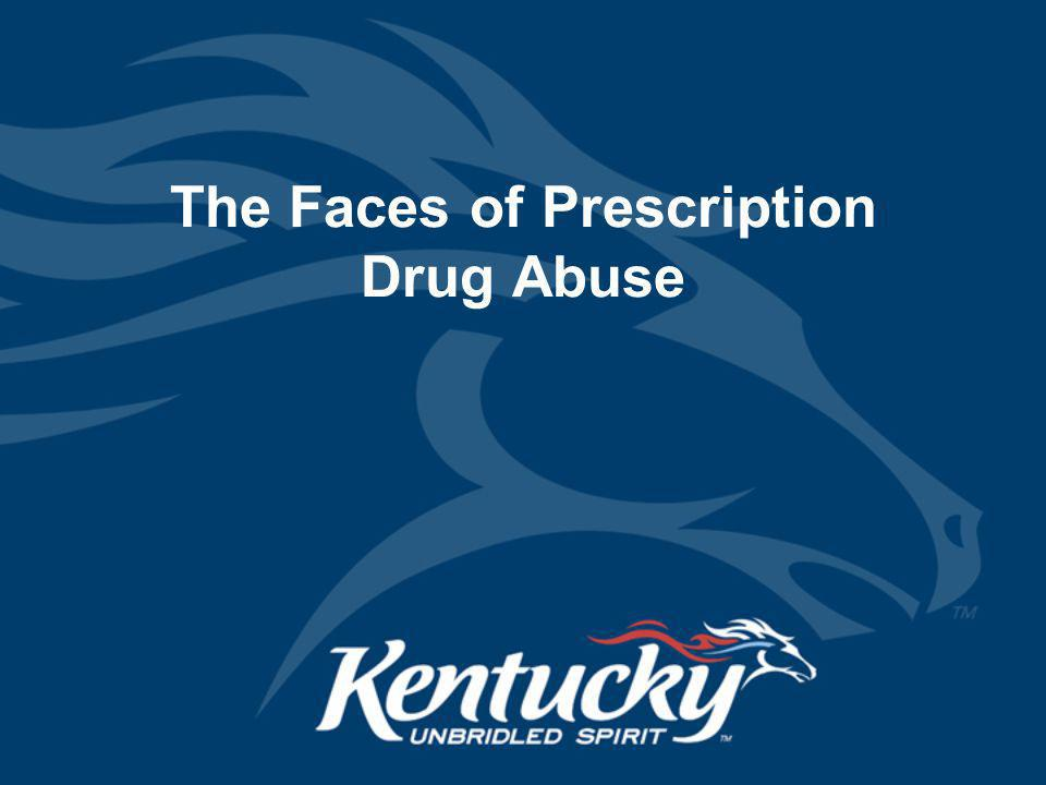 The Faces of Prescription Drug Abuse