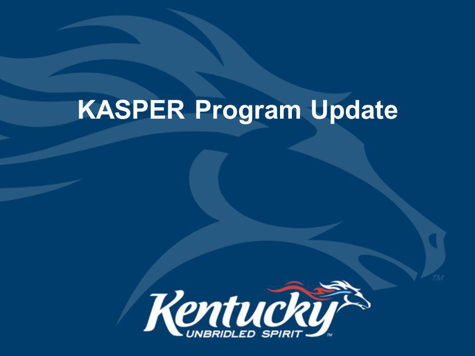 KASPER Program Update