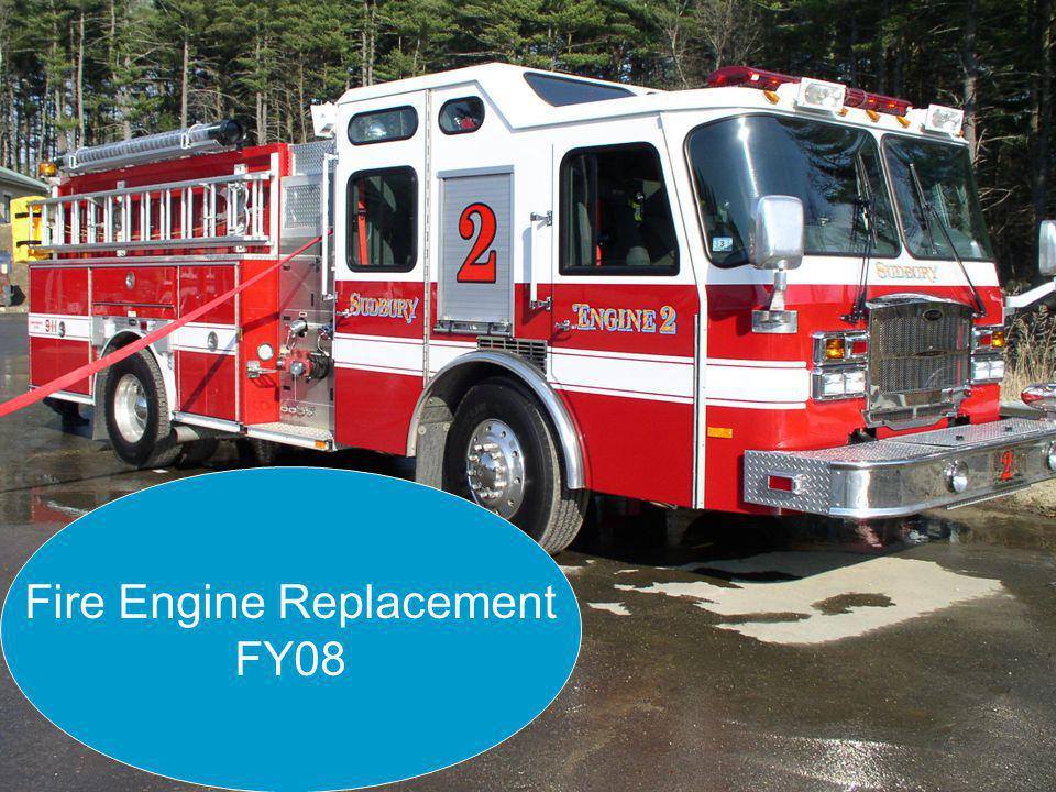 Article 6 - Purchase of Fire Engine - 2007 Annual Town Meeting Fire Engine Replacement FY08