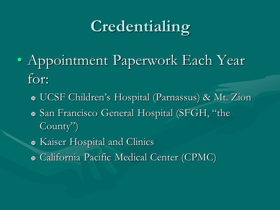 UCSF Pediatric Residency Training Program  The UCSF