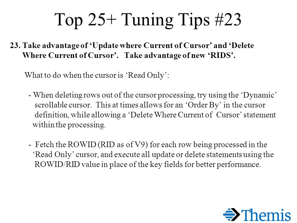 Top 25+ Tuning Tips #23 23.