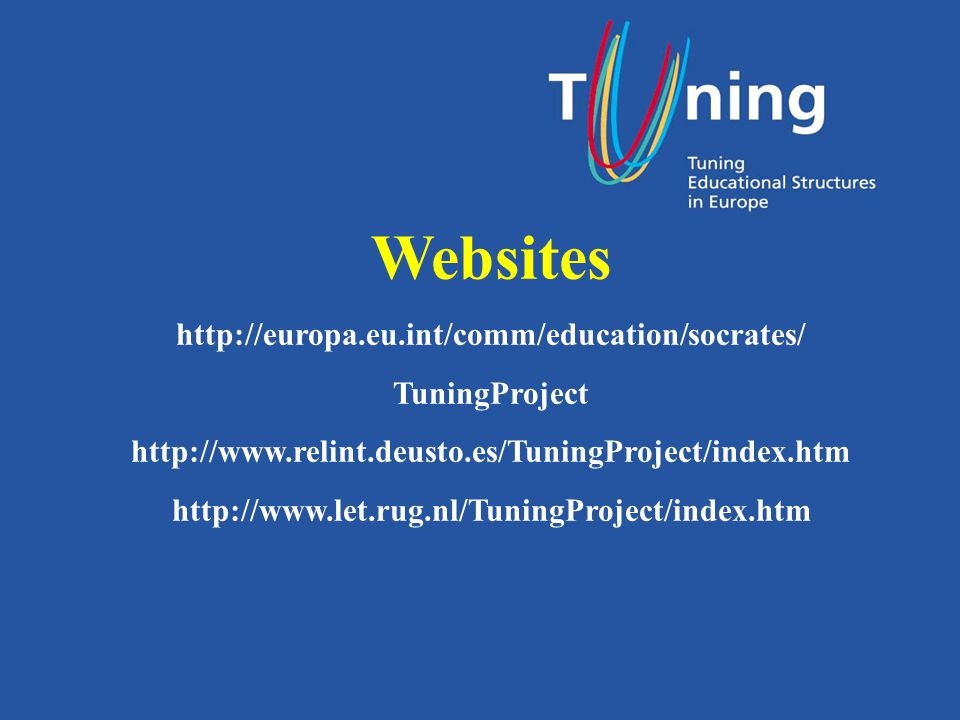 Websites   TuningProject