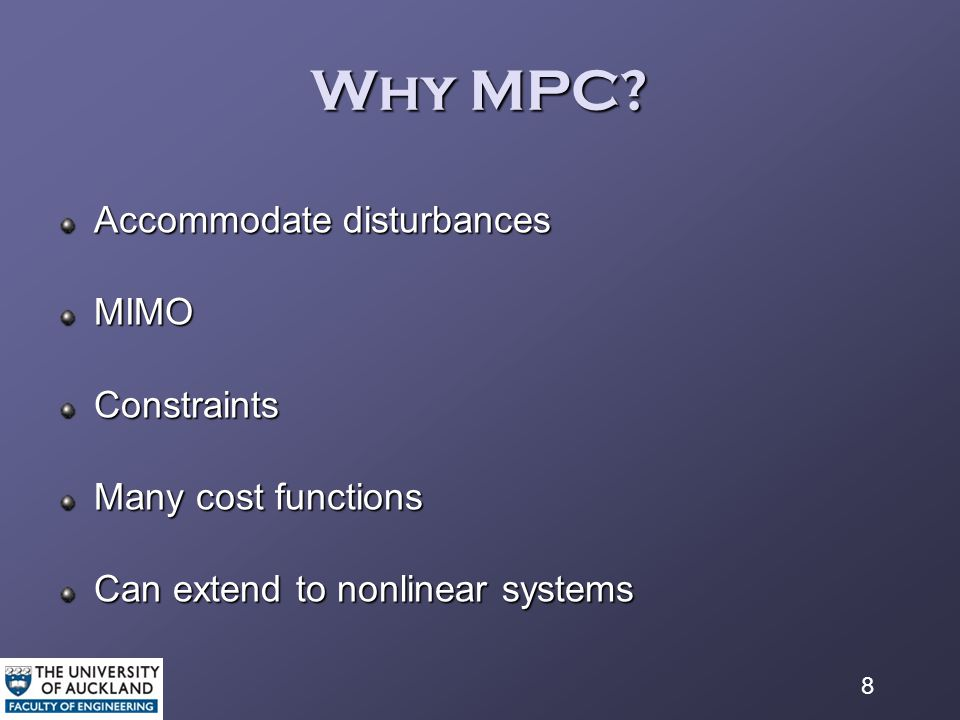 8 Why MPC.
