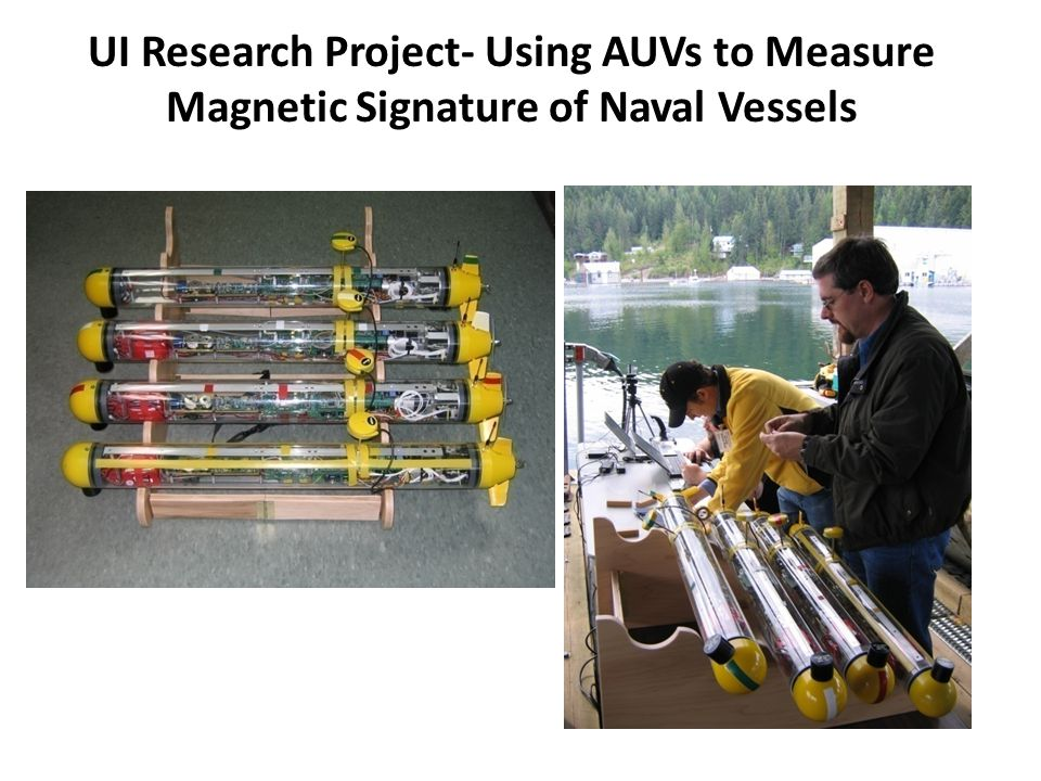 UI Research Project- Using AUVs to Measure Magnetic Signature of Naval Vessels