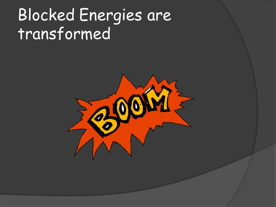 Blocked Energies are transformed