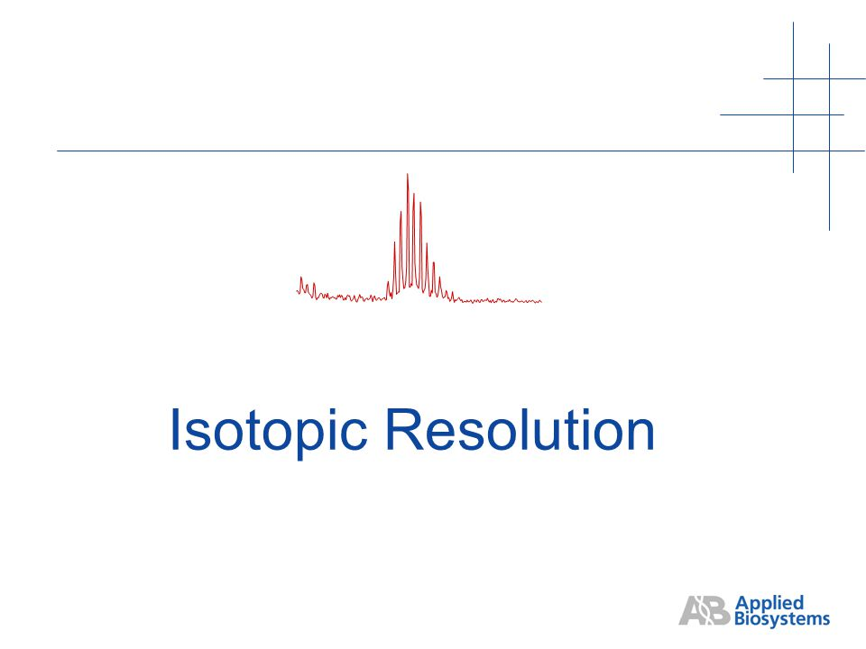 Isotopic Resolution