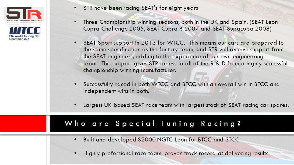 Who are Special Tuning Racing.