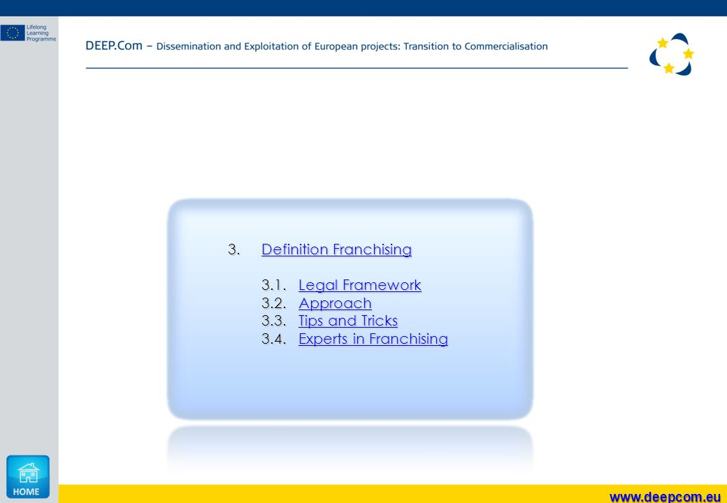 3.Definition Franchising Definition FranchisingDefinition Franchising 3.1.