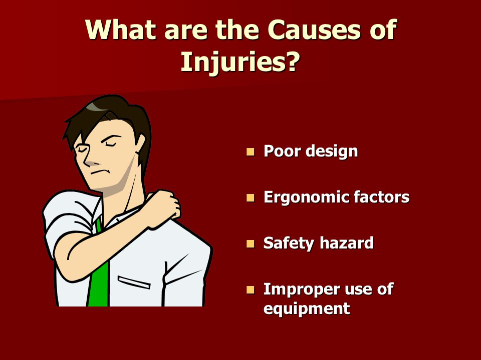 What are the Causes of Injuries.