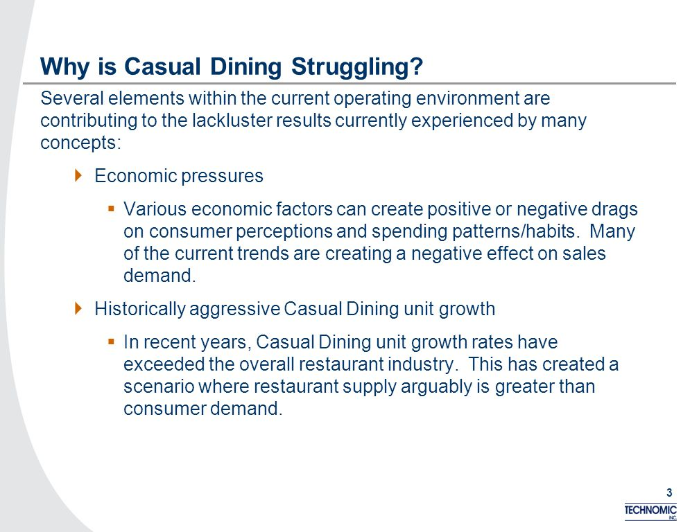 3 Why is Casual Dining Struggling.