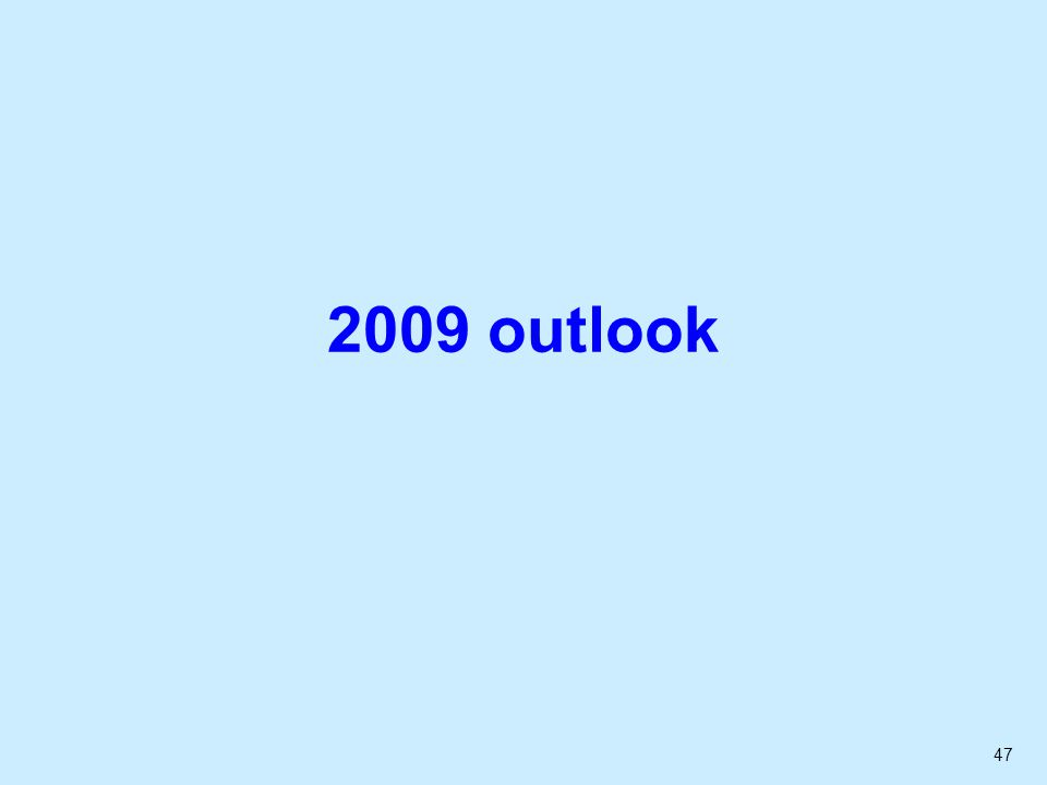 47 2009 outlook