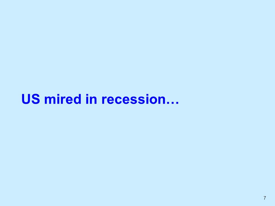 7 US mired in recession…