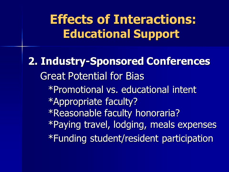 Effects of Interactions: Educational Support Effects of Interactions: Educational Support 2.