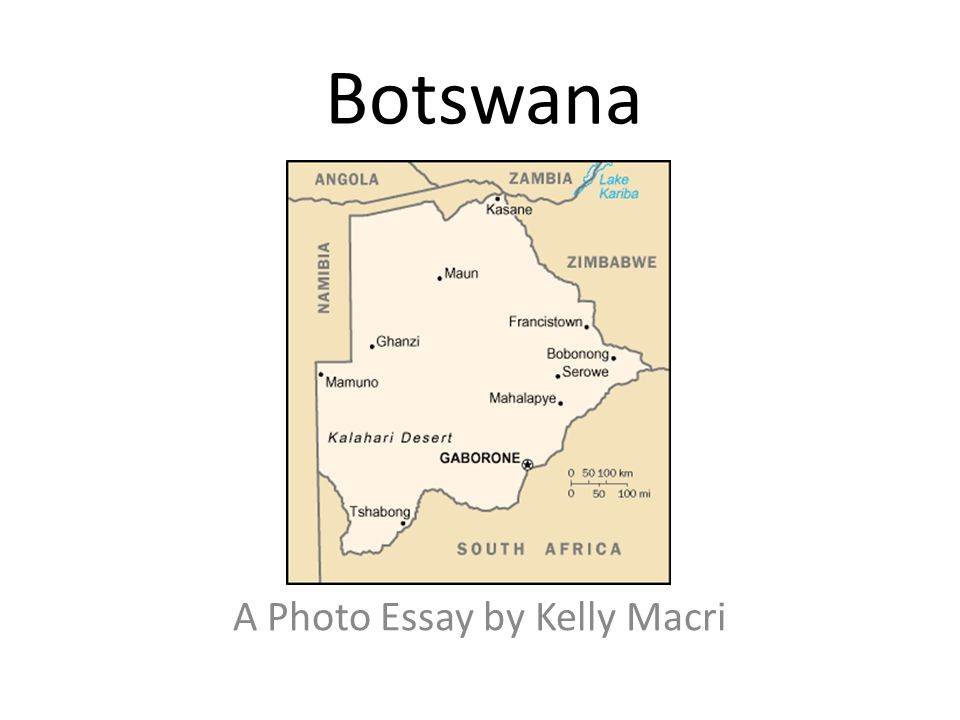 Botswana A Photo Essay by Kelly Macri