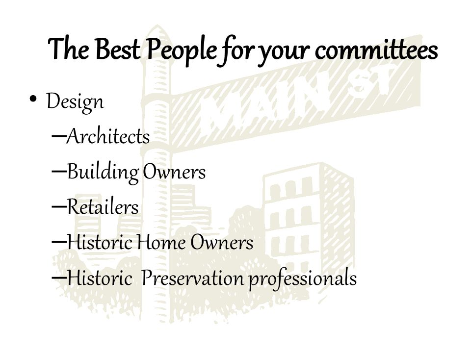 Design – Architects – Building Owners – Retailers – Historic Home Owners – Historic Preservation professionals