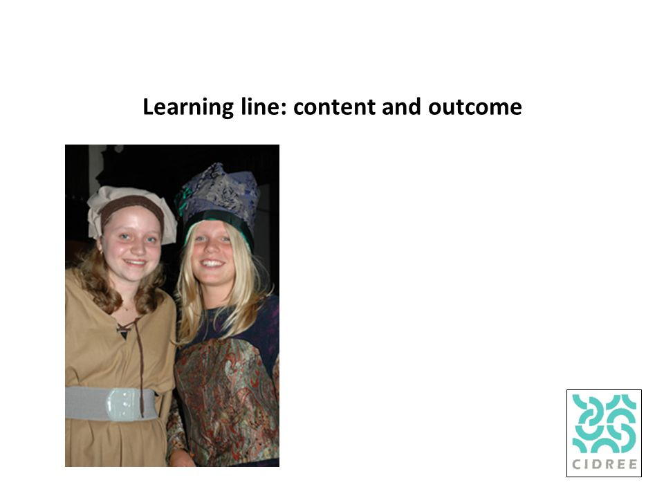 Learning line: content and outcome