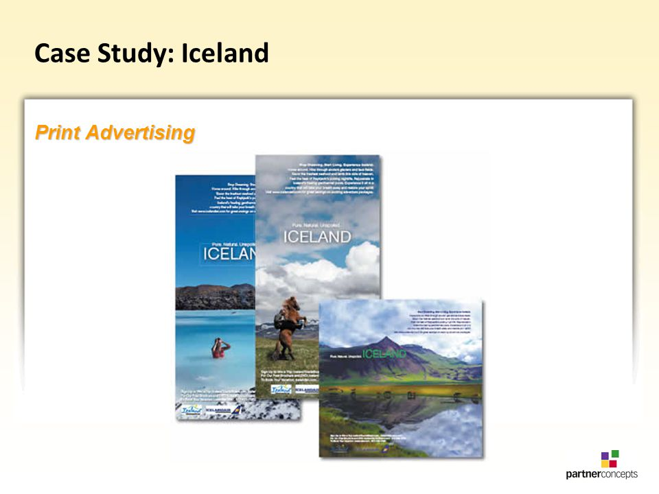 Case Study: Iceland Print Advertising