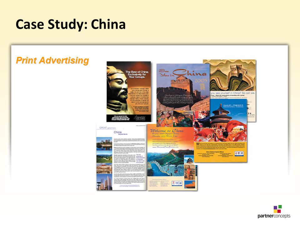 Case Study: China Print Advertising