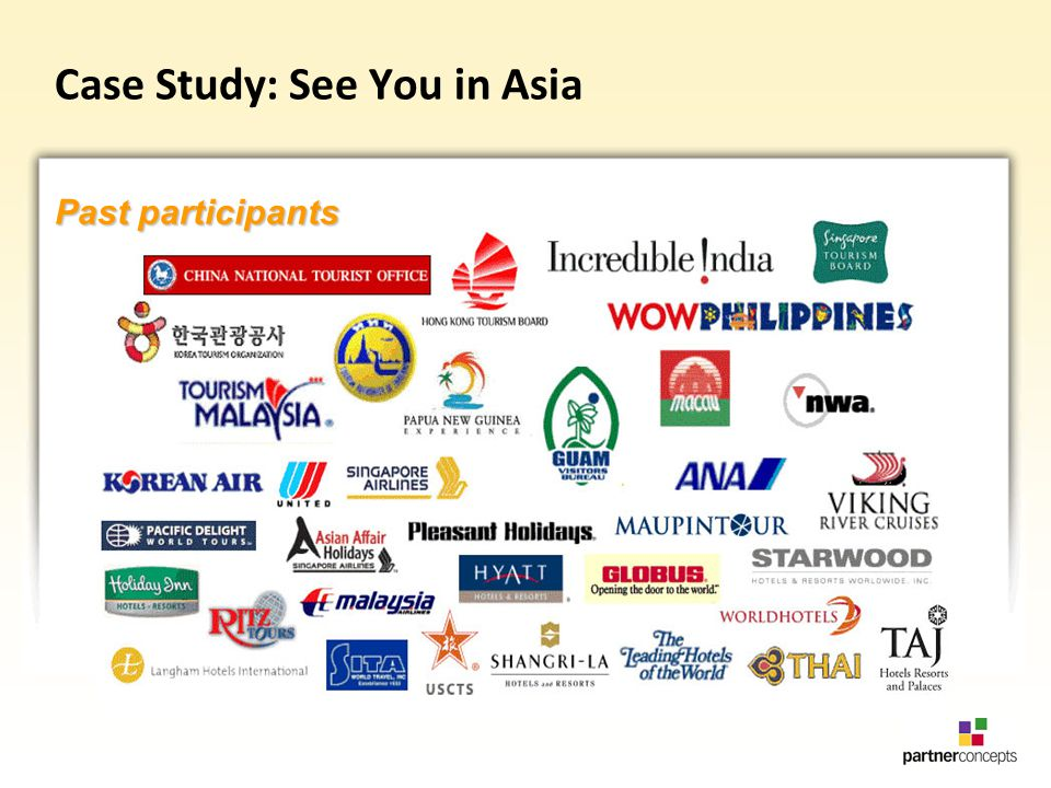 Case Study: See You in Asia Past participants