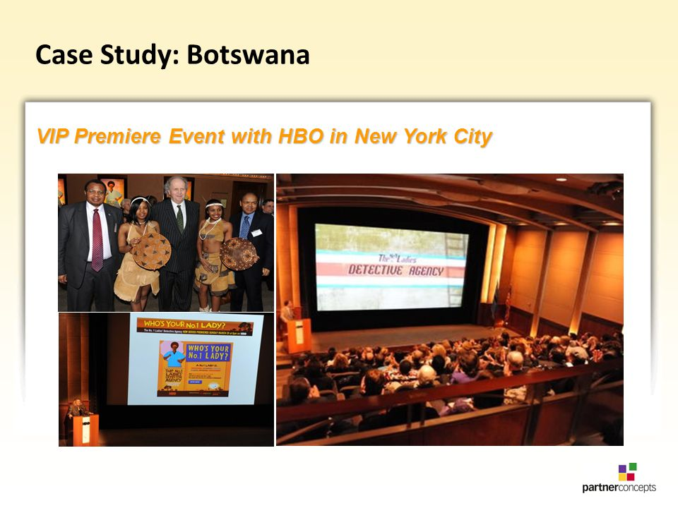 Case Study: Botswana VIP Premiere Event with HBO in New York City