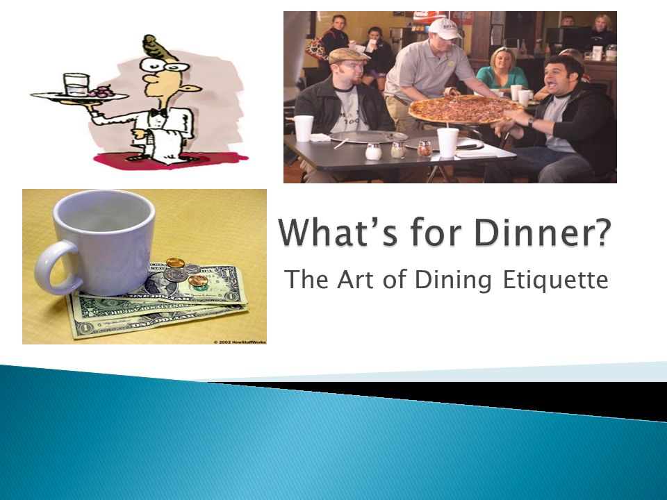 The Art of Dining Etiquette