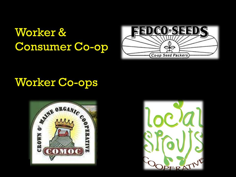 Worker & Consumer Co-op Worker Co-ops