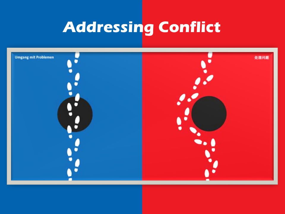 Addressing Conflict