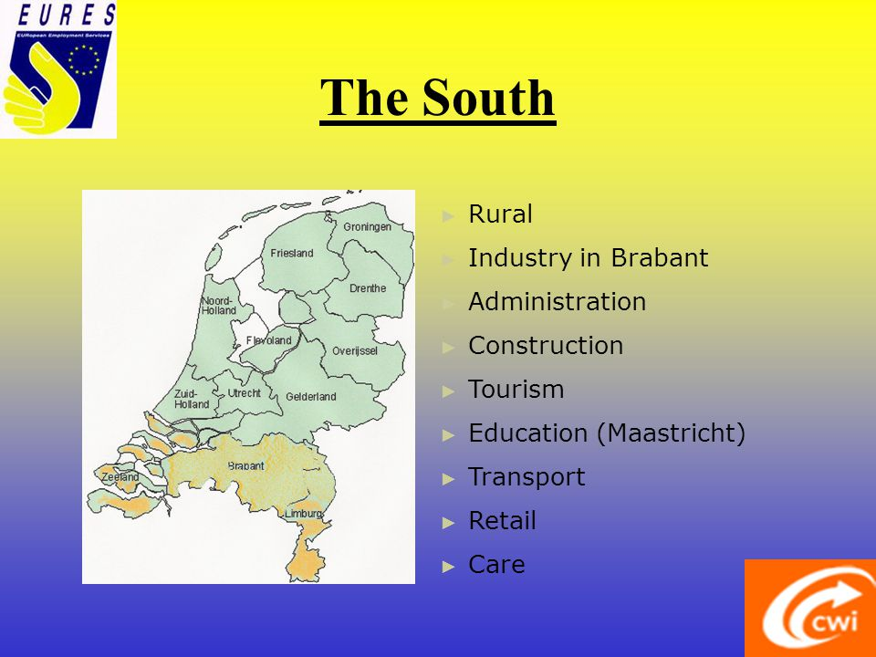 The East Rural Administration Tourism Education (Enschede) Transport Retail Care