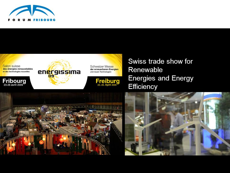 Swiss trade show for Renewable Energies and Energy Efficiency