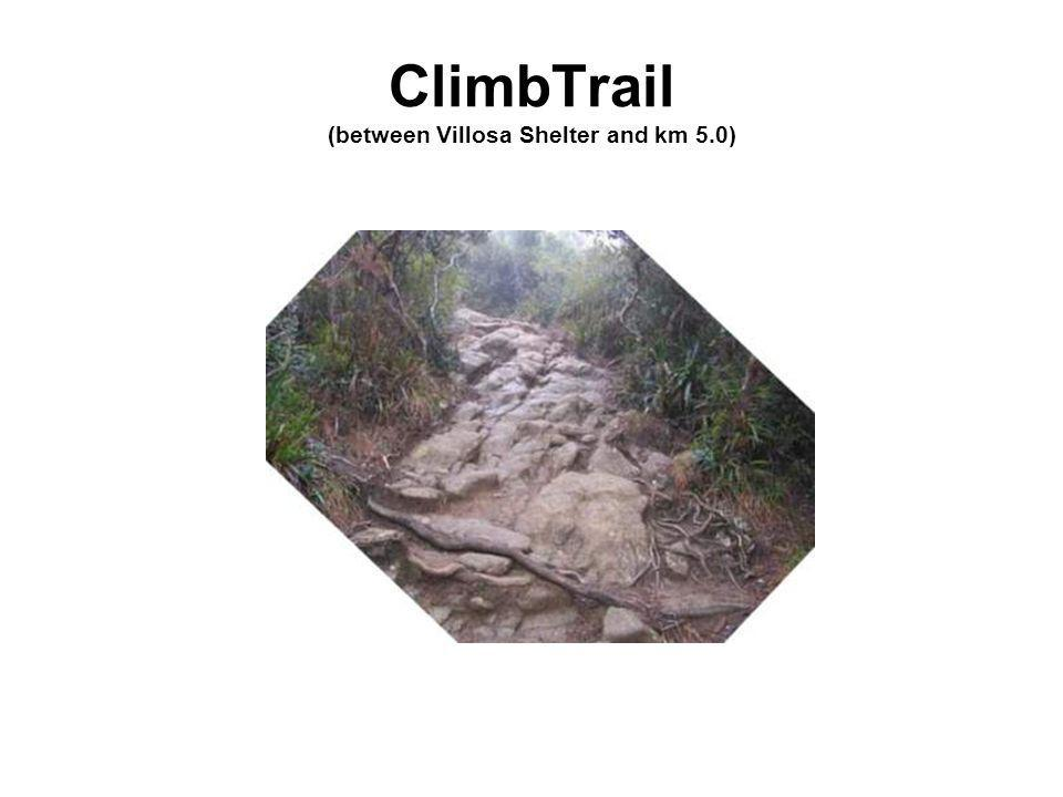 ClimbTrail (between Villosa Shelter and km 5.0)