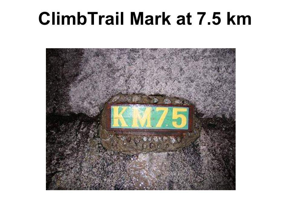 ClimbTrail Mark at 7.5 km