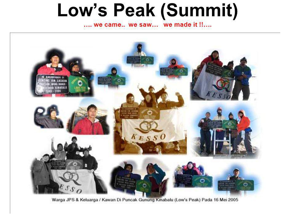 Lows Peak (Summit) …. we came.. we saw… we made it !!….