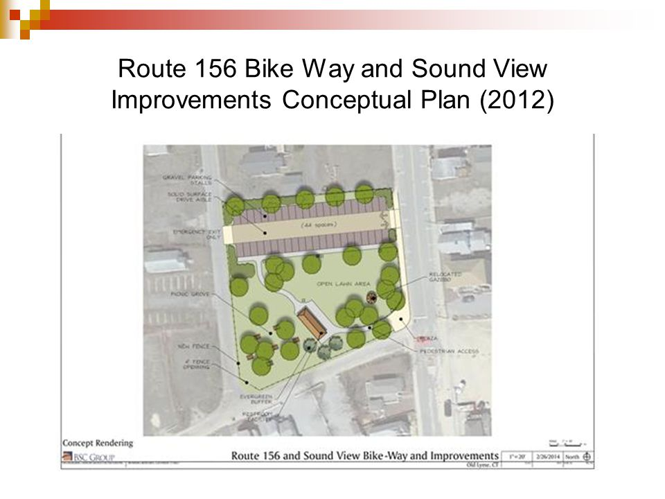 Route 156 Bike Way and Sound View Improvements Conceptual Plan (2012)