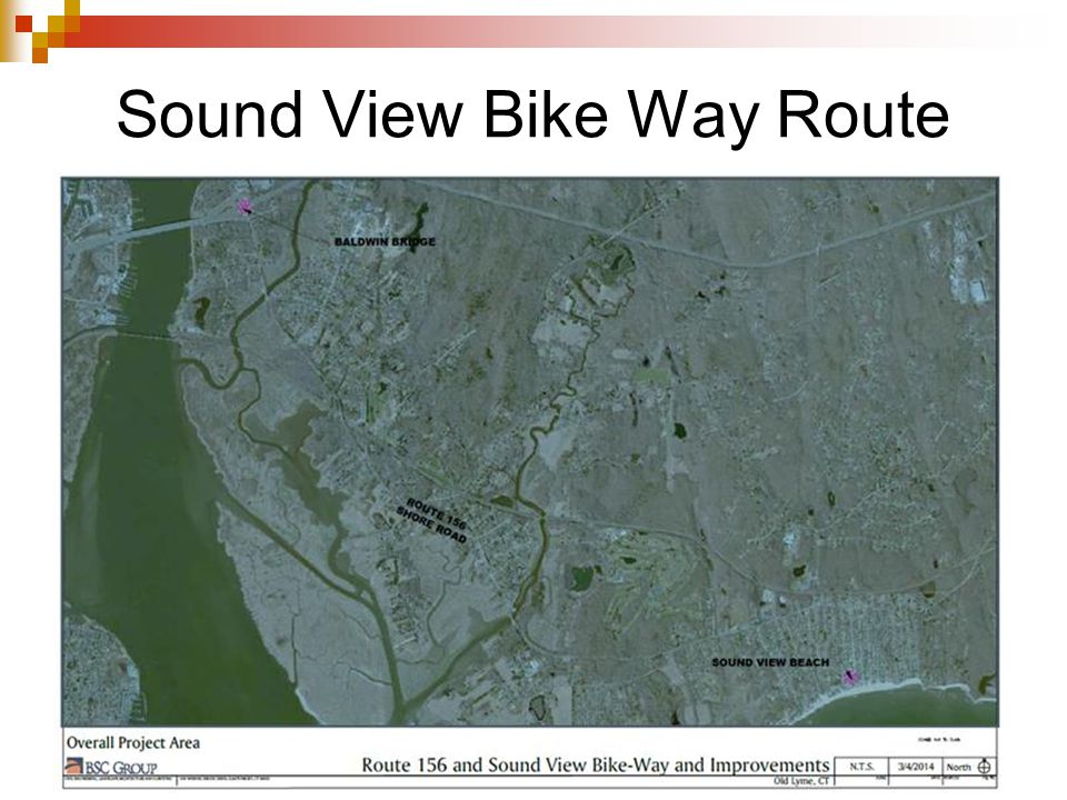 Sound View Bike Way Route
