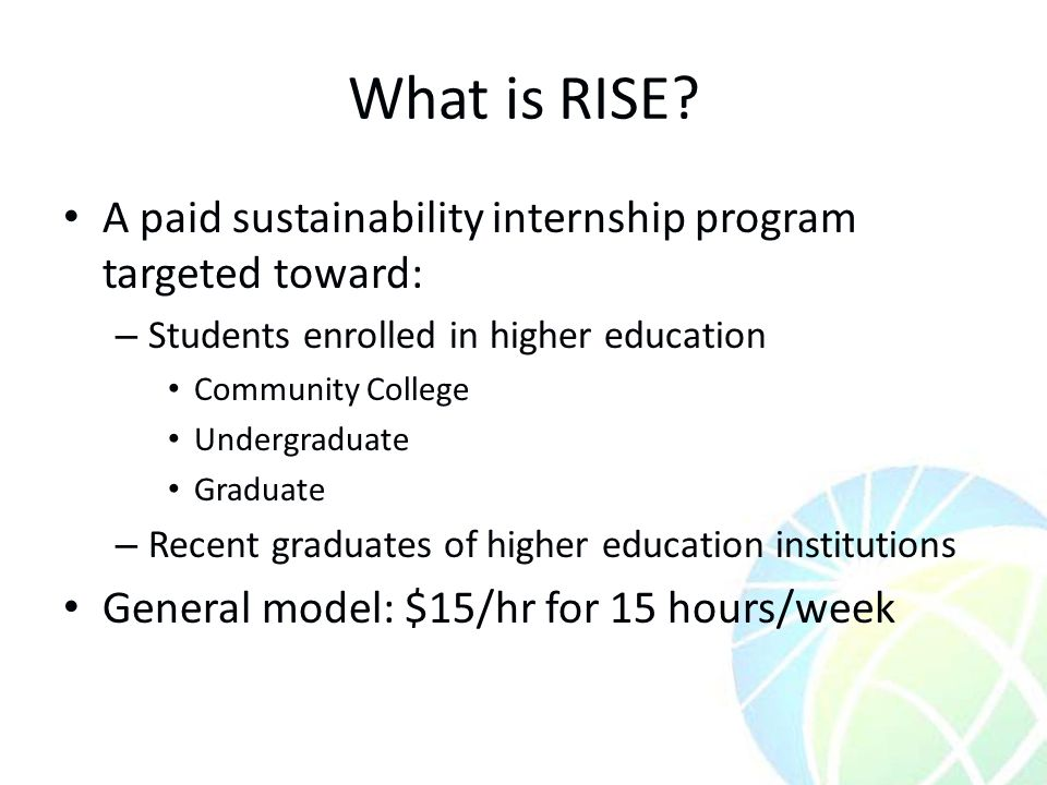 What is RISE.