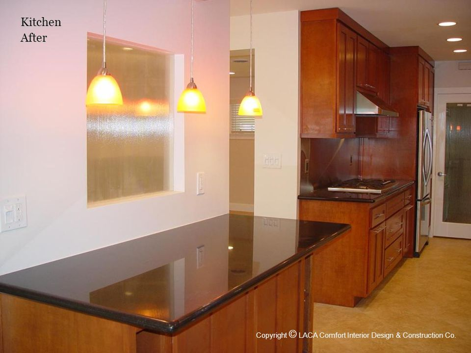 KitchenAfter Copyright © LACA Comfort Interior Design & Construction Co.