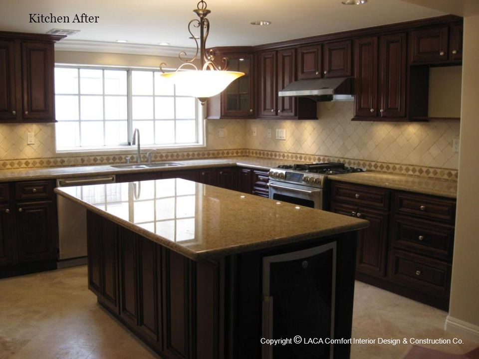 Kitchen After Copyright © LACA Comfort Interior Design & Construction Co.