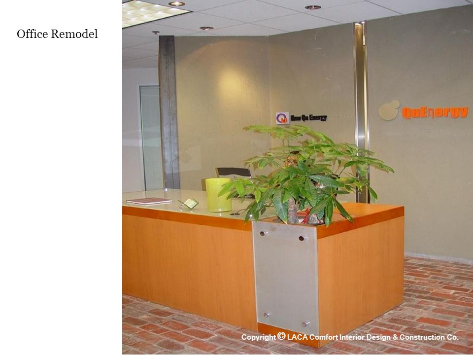 Office Remodel Copyright © LACA Comfort Interior Design & Construction Co.