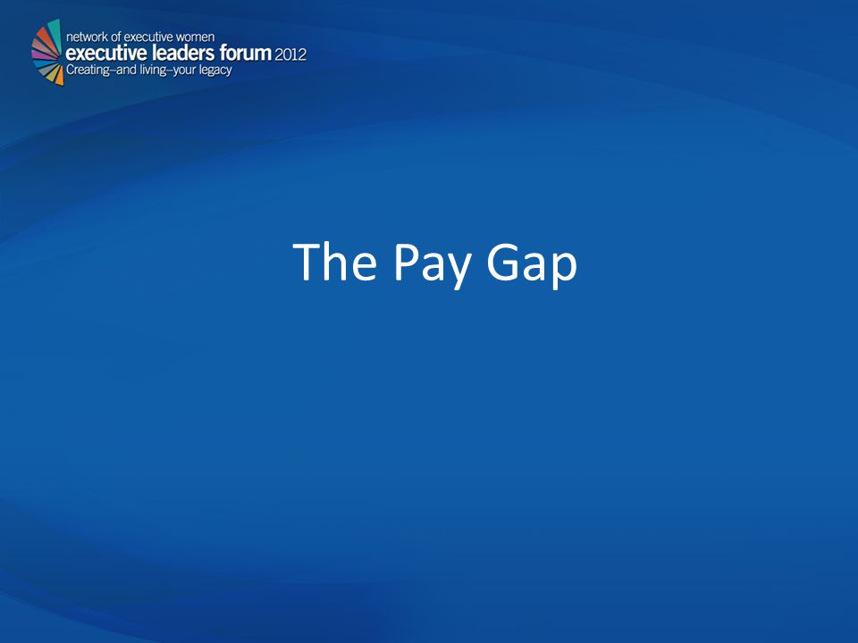 The Pay Gap