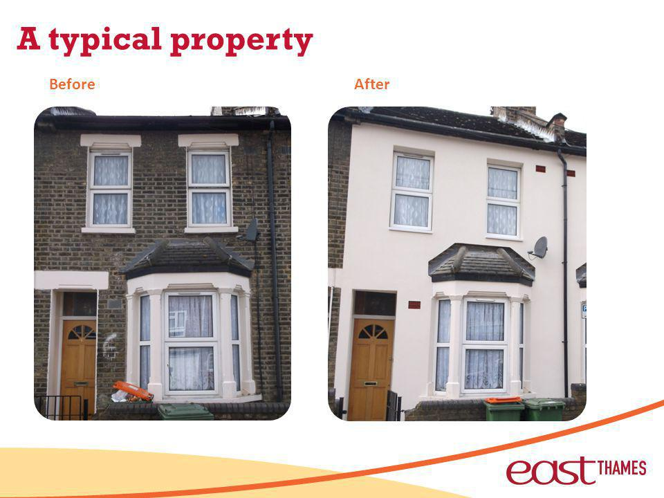 A typical property BeforeAfter