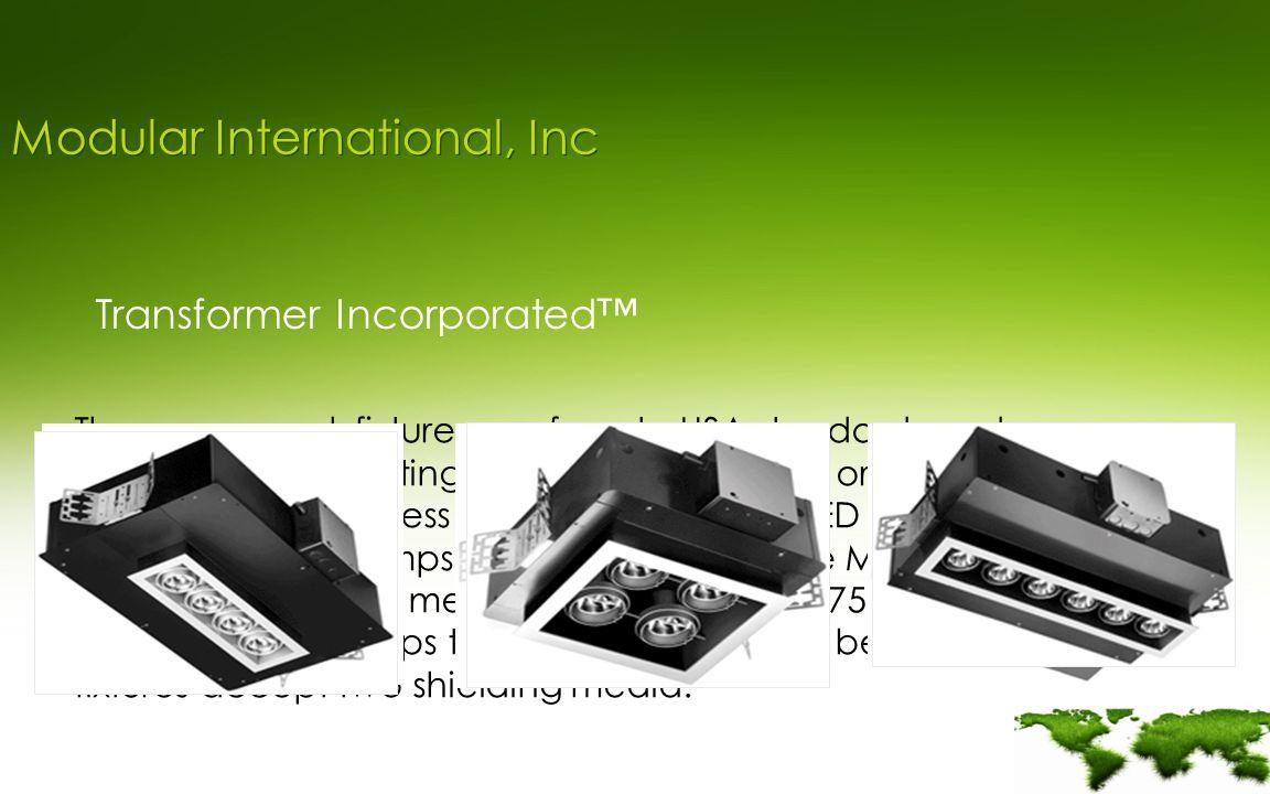 We Are Green Modular Lighting