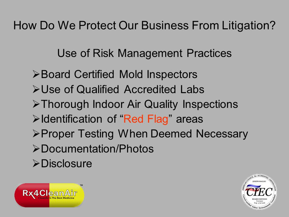 How Do We Protect Our Business From Litigation.