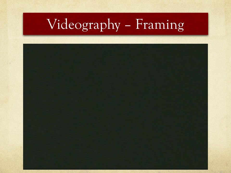 Videography – Framing Zoom! The LENS moves but the camera does not Traditional zooms feel outdated