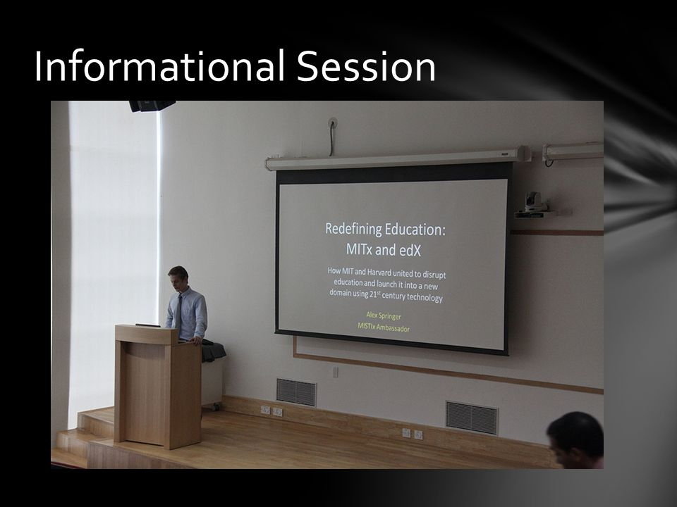 Informational Session