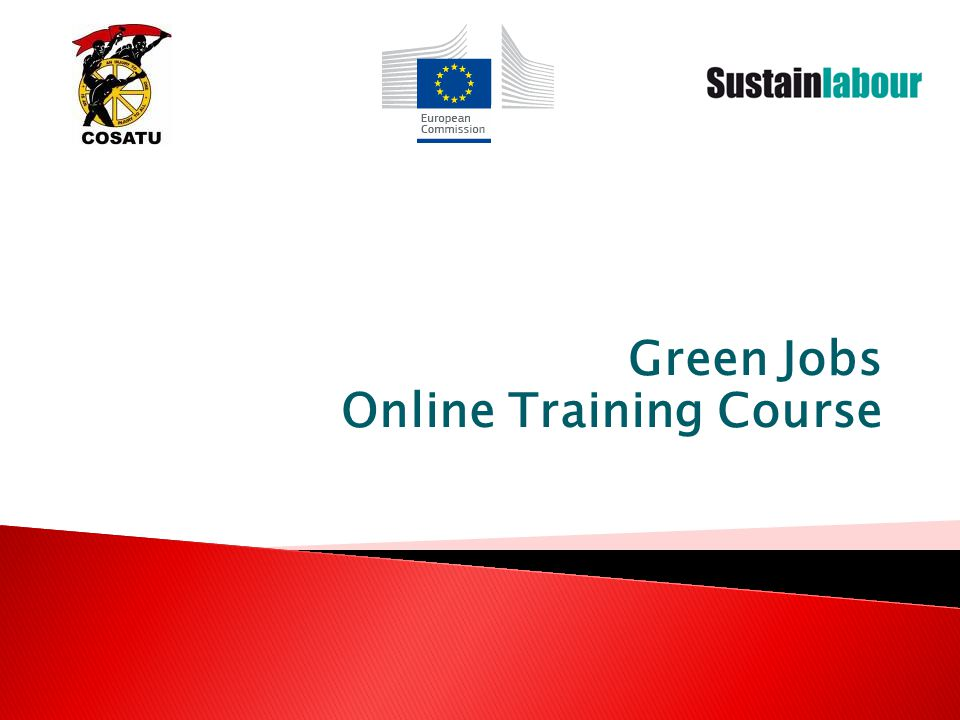 Green Jobs Online Training Course