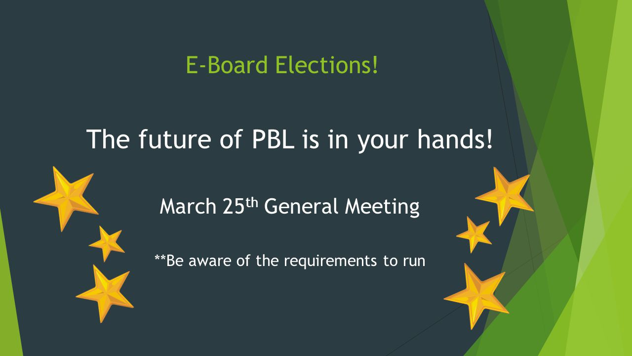 The future of PBL is in your hands.