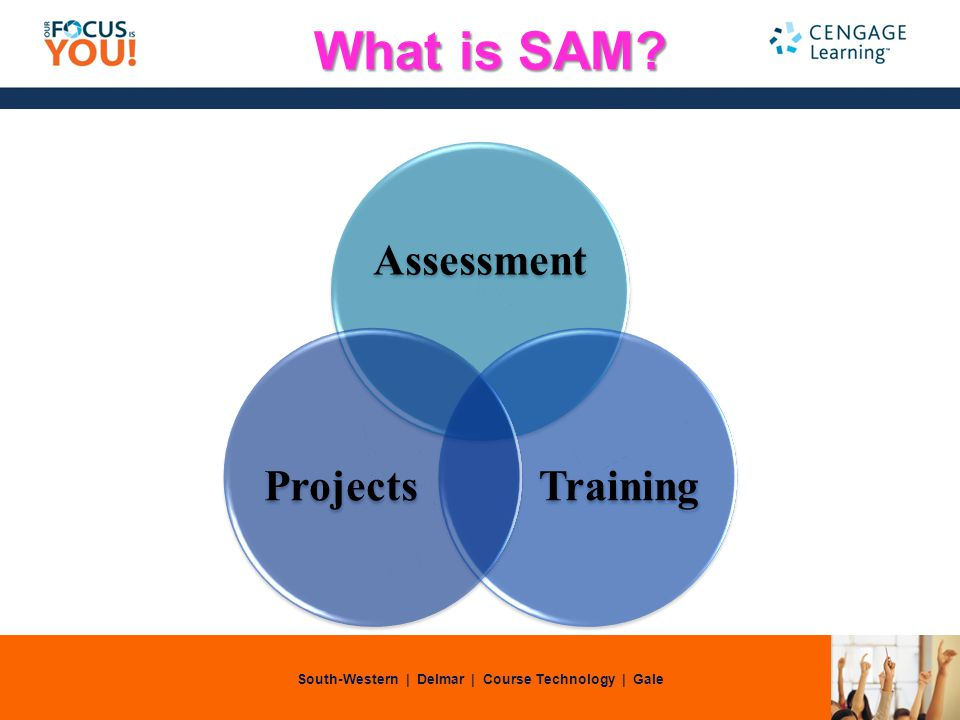 South-Western | Delmar | Course Technology | Gale What is SAM Assessment TrainingProjects