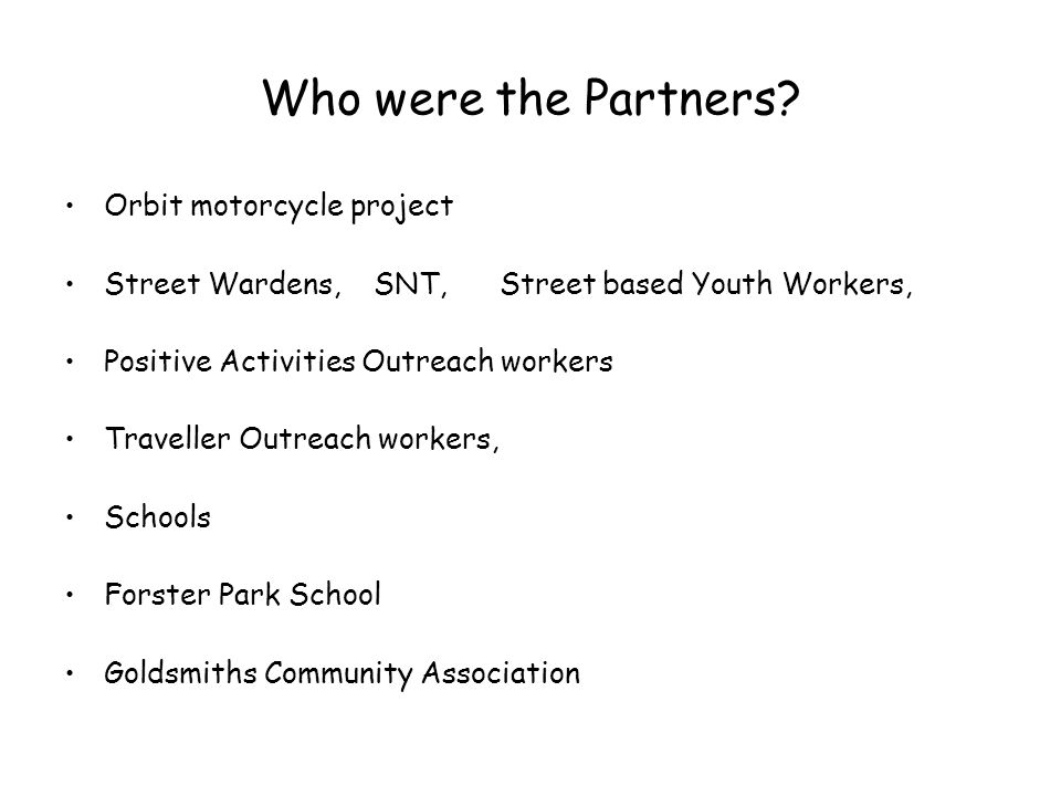 Who were the Partners.